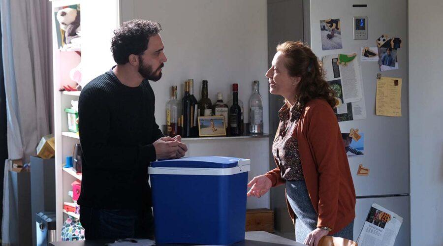 Simone Liberati ed Elisabetta De Vito nella fiction Chiamami ancora amore. Credits: Fabrizio de Blasio e Rai.