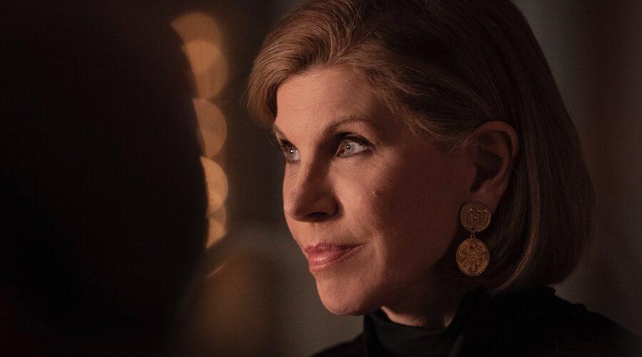 Christine Baranski (Diane) In Una Scena Di The Good Fight 5 Credits: TimVision