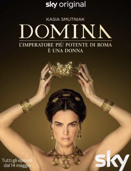 Poster di Domina, la serie. Credits: Sky.