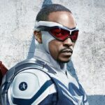 Anthony Mackie nei panni di Captain America in The Falcon And The Winter Soldier. Credits: Disney.