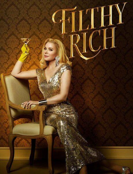 La locandina della serie TV Filthy Rich. Credits: Disney+.
