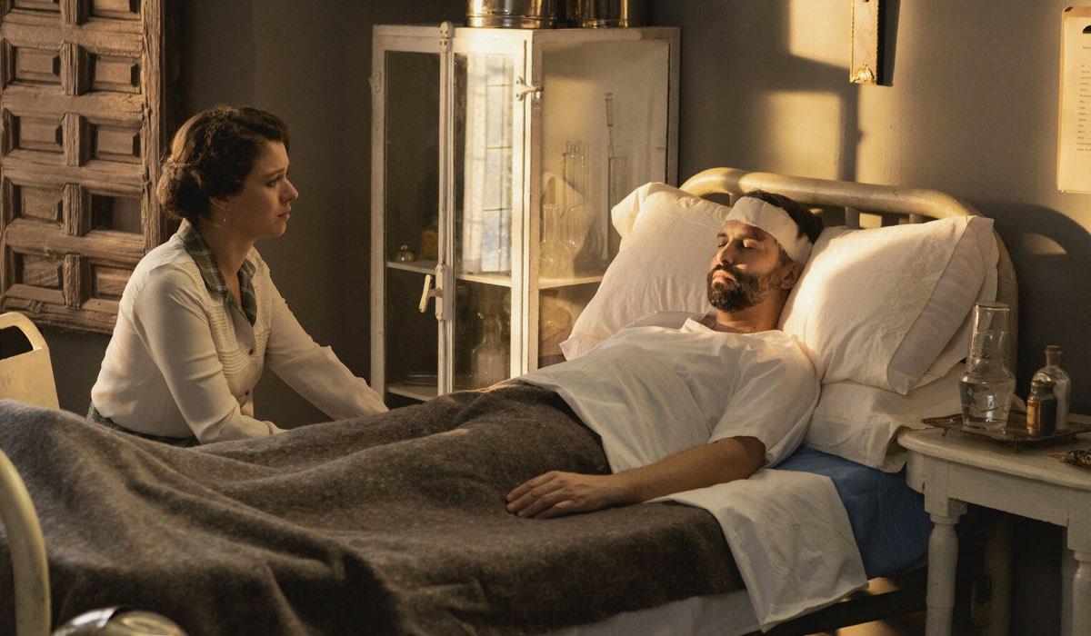 Genoveva da Felipe In Ospedale In Una Vita Credits: Boomerang Tv
