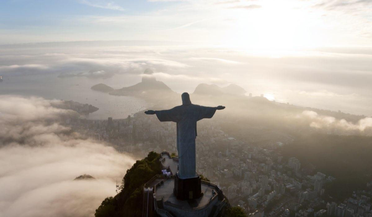La statua di Gesù a Rio de Janeiro. Credits: Envato Elements.