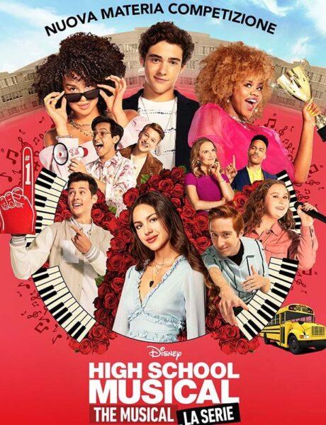 La locandina di High School Musical: The Musical: La Serie. Credits: The Walt Disney Company.