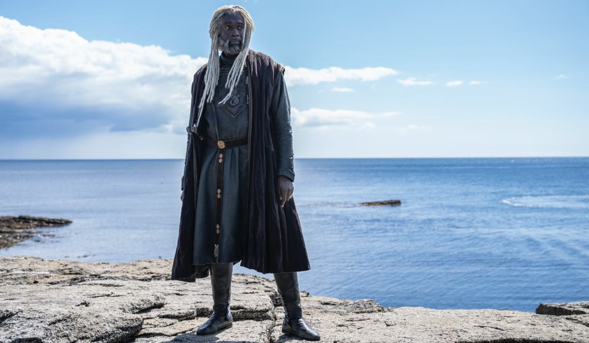 House Of The Dragon, Serpente Di Mare (Steve Toussaint). Credits: Sky, HBO E Erin Parkin