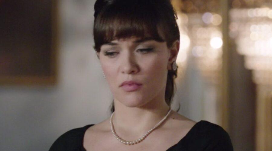 Il Paradiso Delle Signore 5 Puntata 127: Marta Guarnieri in Conti interpretata da Gloria Radulescu Credits Rai