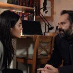 La Fuggitiva, qui Pina Turco e Sergio Romano Credits Rai
