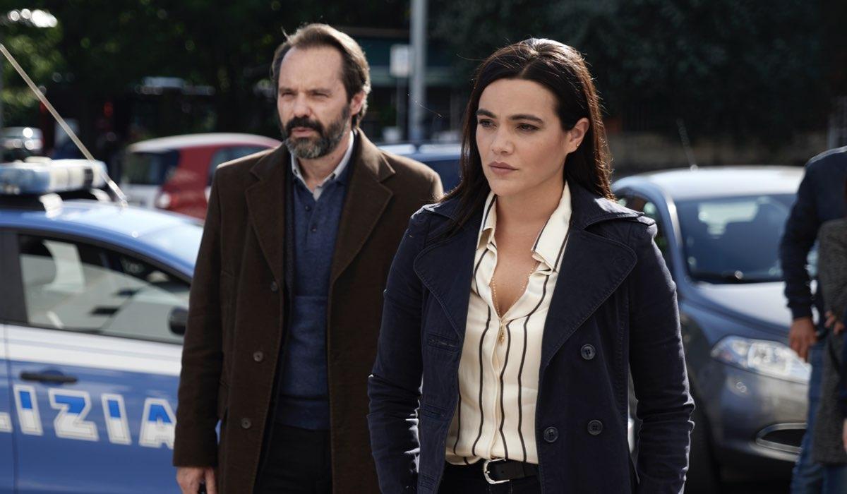 La Fuggitiva, qui Sergio Romano e Pina Turco Credits Rai