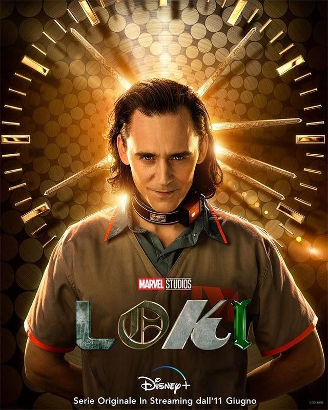 La locandina di Loki. Credits: Disney+/Marvel Studios.