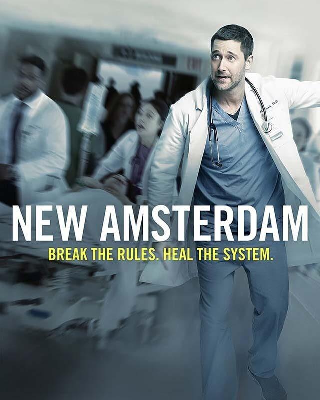 La locandina di New Amsterdam. Credits: NBC.