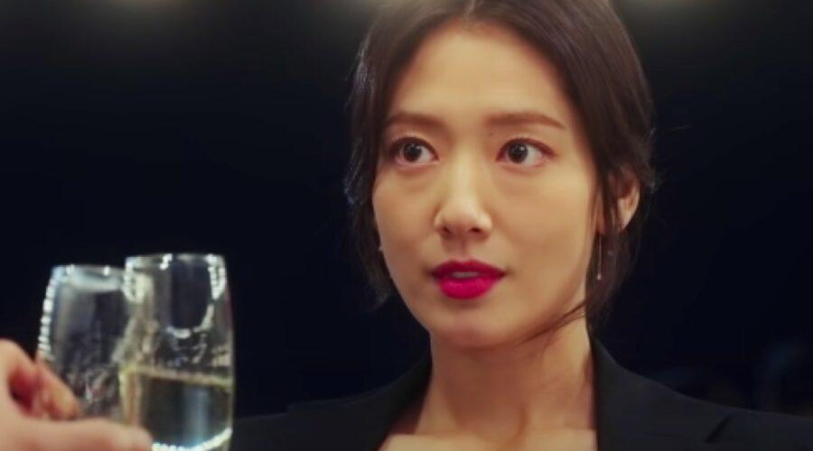 Park Shin-hye (Kang Seo-Hae) in una scena dal Trailer Ufficiale Di Sisyphus serie tv. Credits: Netflix