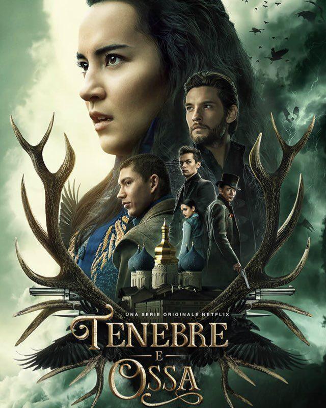 Poster di Tenebre e Ossa, la serie. Credits: Netflix.