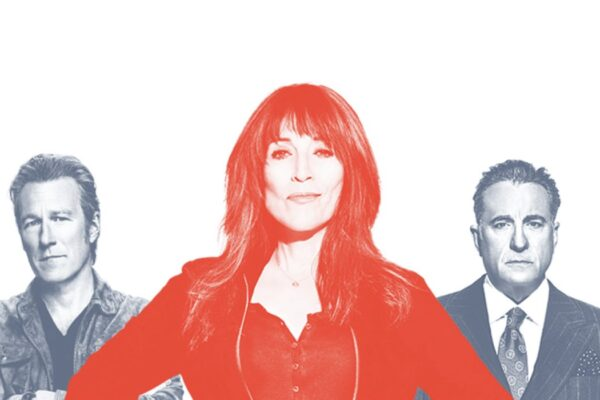 John Corbett, Katey Sagal e Andy Garcia nella serie tv Rebel. Credits: Star/Disney.