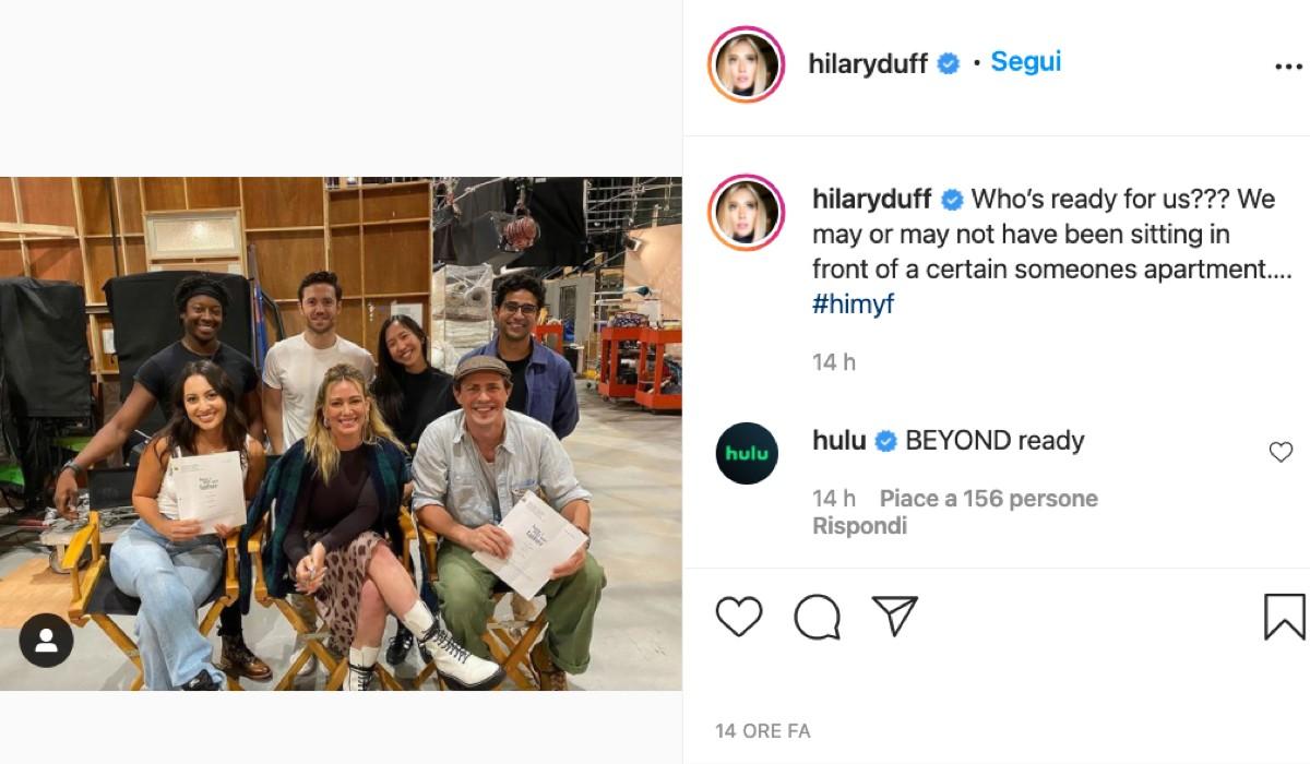 Screenshot Post con Cast Completo Di