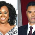 Shonda Rhimes (Foto Di George Pimentel) E Rege Jean Page (Foto Di David Livingston). Credits: Getty Images