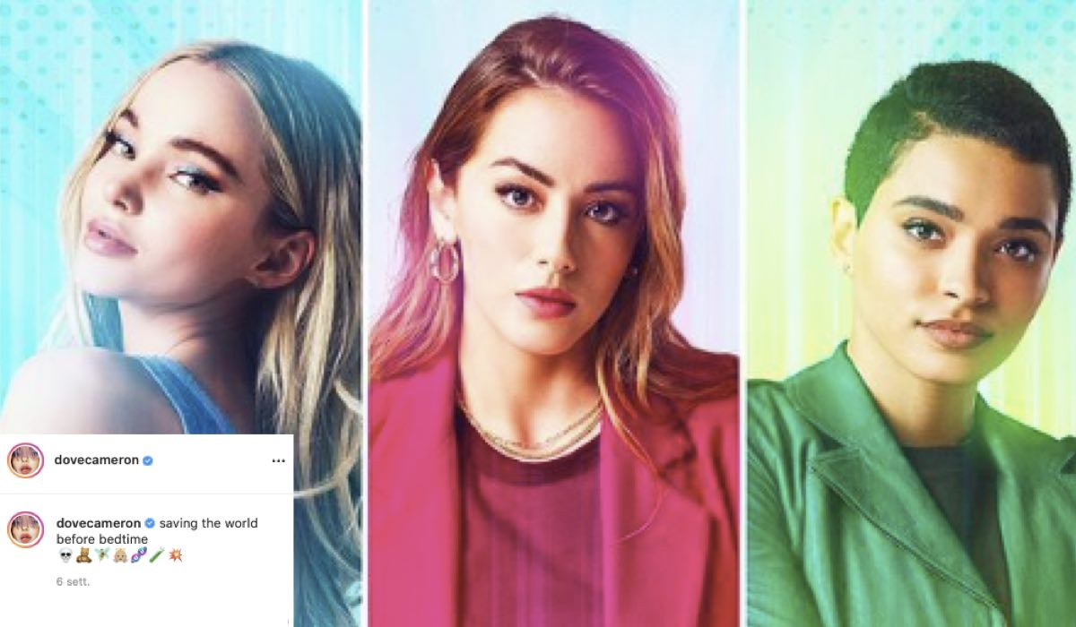 Superchicche Serie TV. Credits: Instagram Via Profilo Ufficiale @dovecameron E The CW/James Acomb