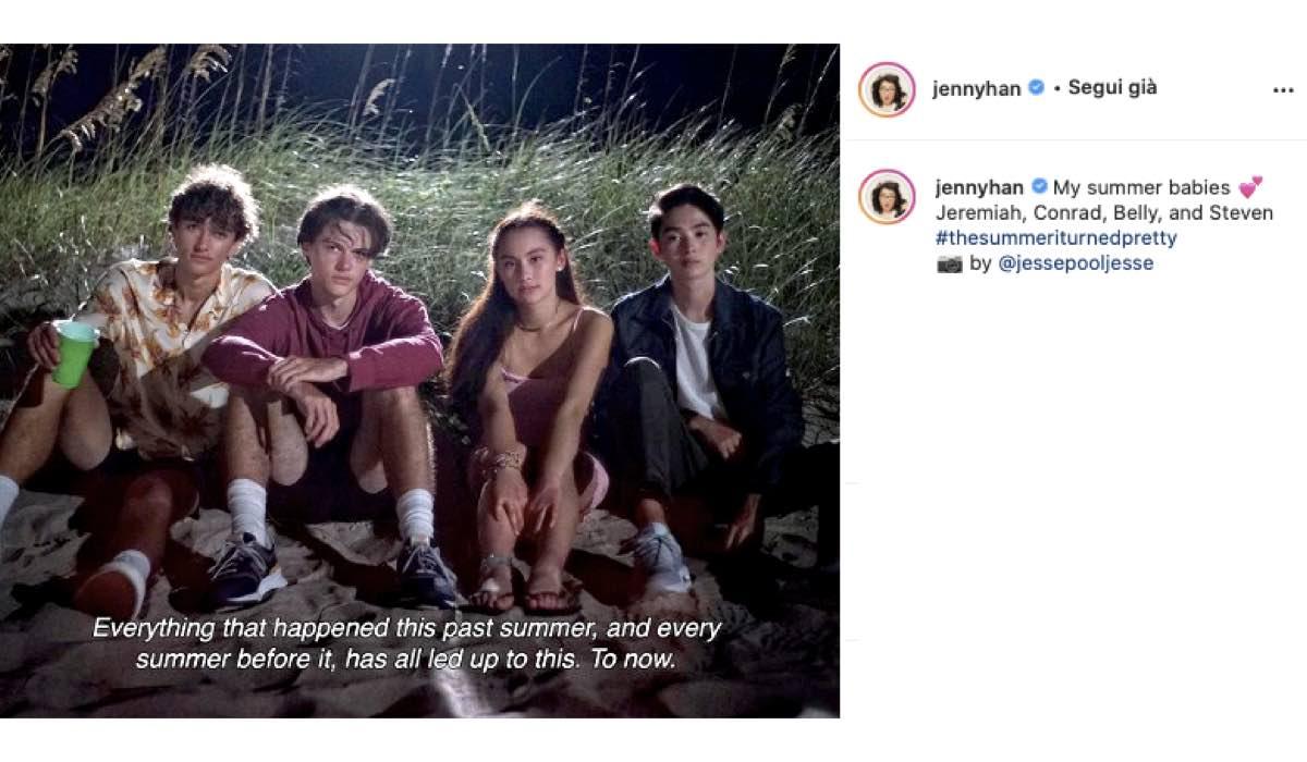 The Summer Trilogy Prima Foto Del Cast. Credits: Instagram Via Profilo @jennyhan
