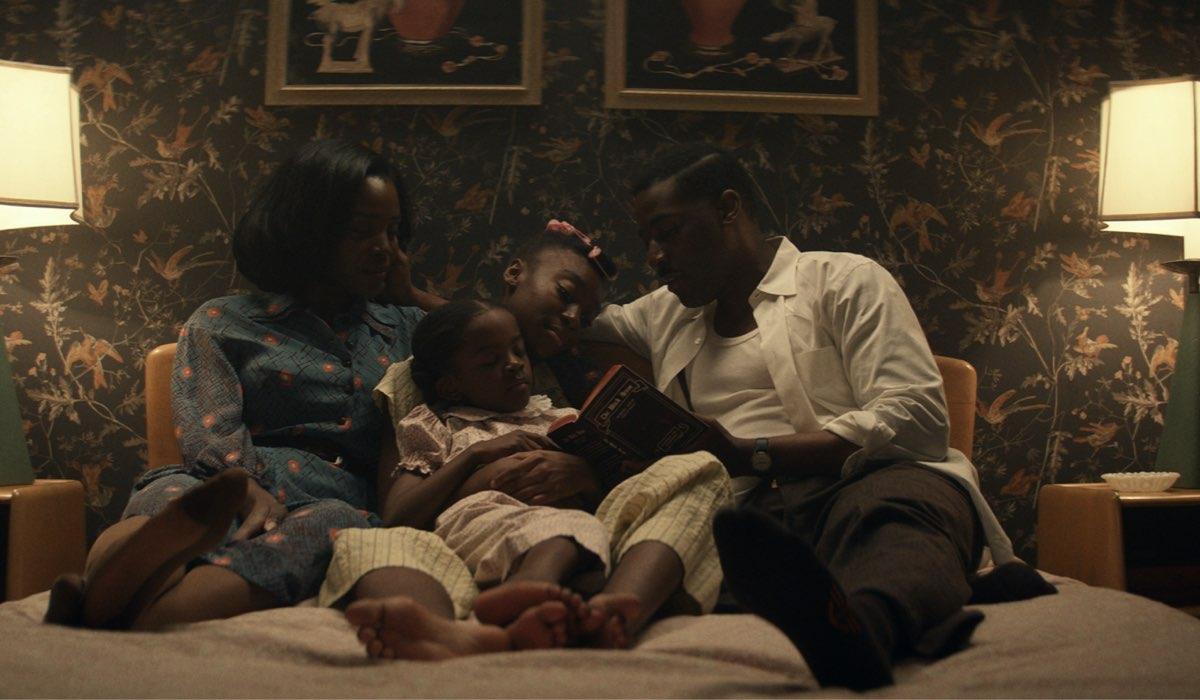 La famiglia Emory, protagonista di Them: Covenant. Credits: Amazon Prime Video.