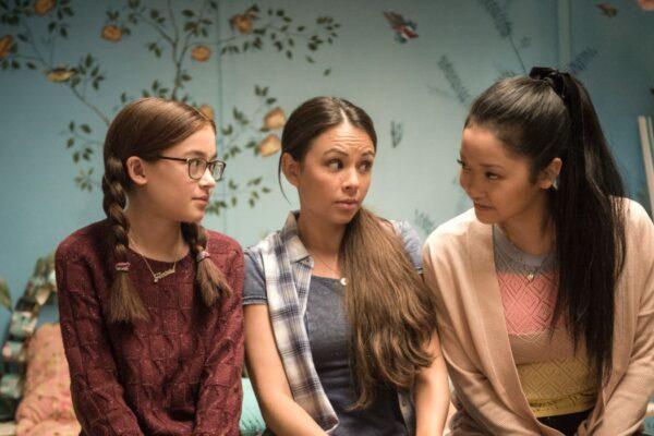 Tutte Le Volte Che Ho Scritto Ti Amo Anna Cathcart, Janel Parrish e Lana Condor. Credits: Netflix