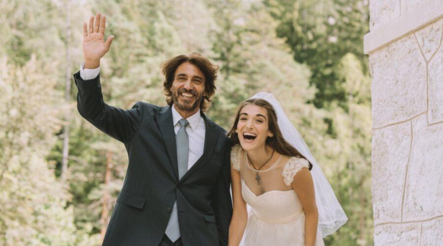 Un Passo Dal Cielo 6 Francesco e Emma interpretati da Daniele Liotti e Pilar Fogliati Credits Rai