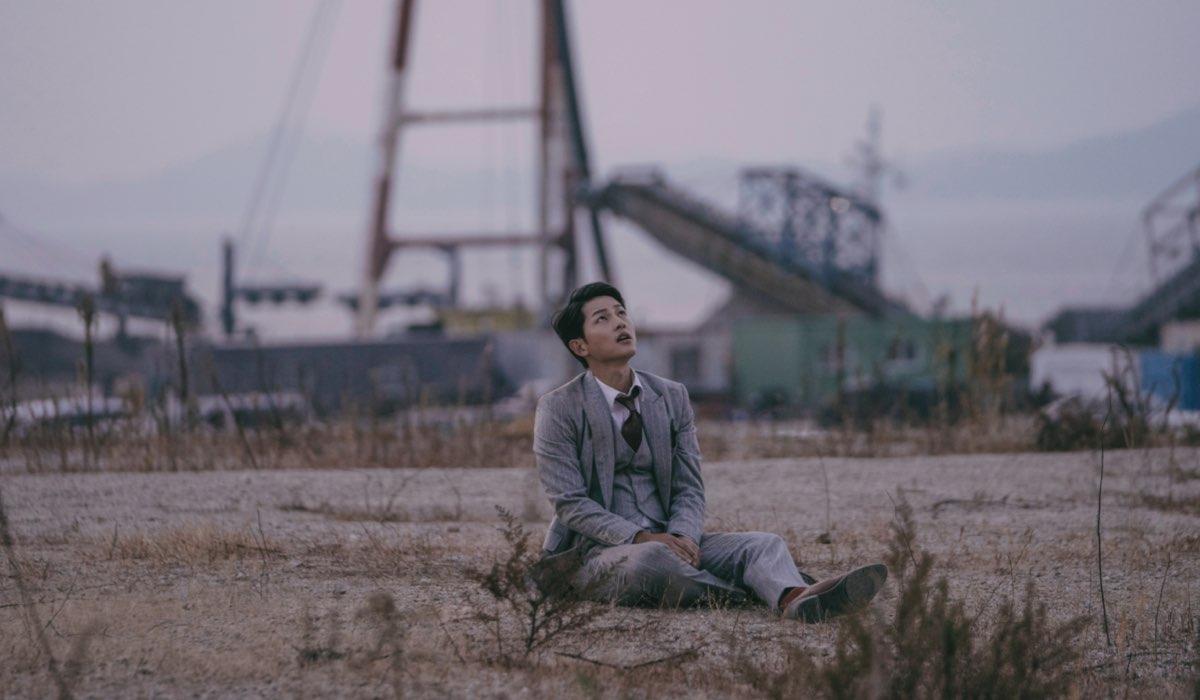 Una Scena Di Vincenzo Con Song Joong-ki (Vincenzo Cassano/Park Joo-hyung). Credits Netflix