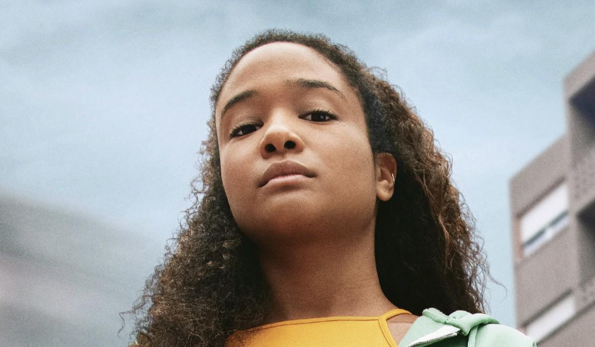 Virginia Diop (Awa) In Zero Serie Tv. Credits: Netflix