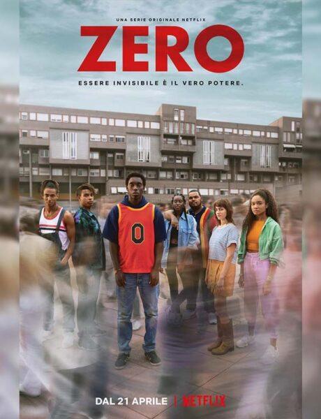 La locandina della serie TV Zero. Credits: Netflix.