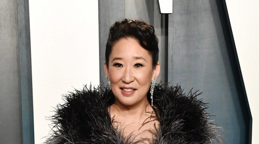 Sandra Oh al Vanity Fair Oscar Party 2020 a Beverly Hills California Photo by Frazer Harrison:Getty Images