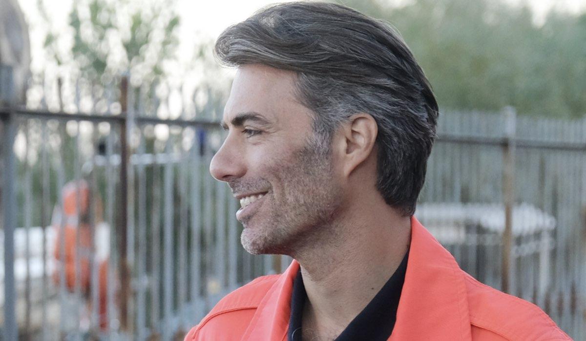 Alessandro Riceci (Roberto) In Chiamami Ancora Amore. Credits: Fabrizio de Blasio/Rai