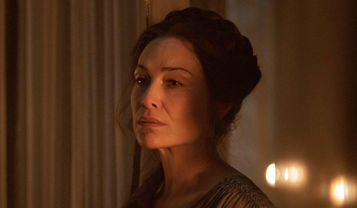 Claire Forlani Interpreta Ottavia In Domina. Credits: Sky