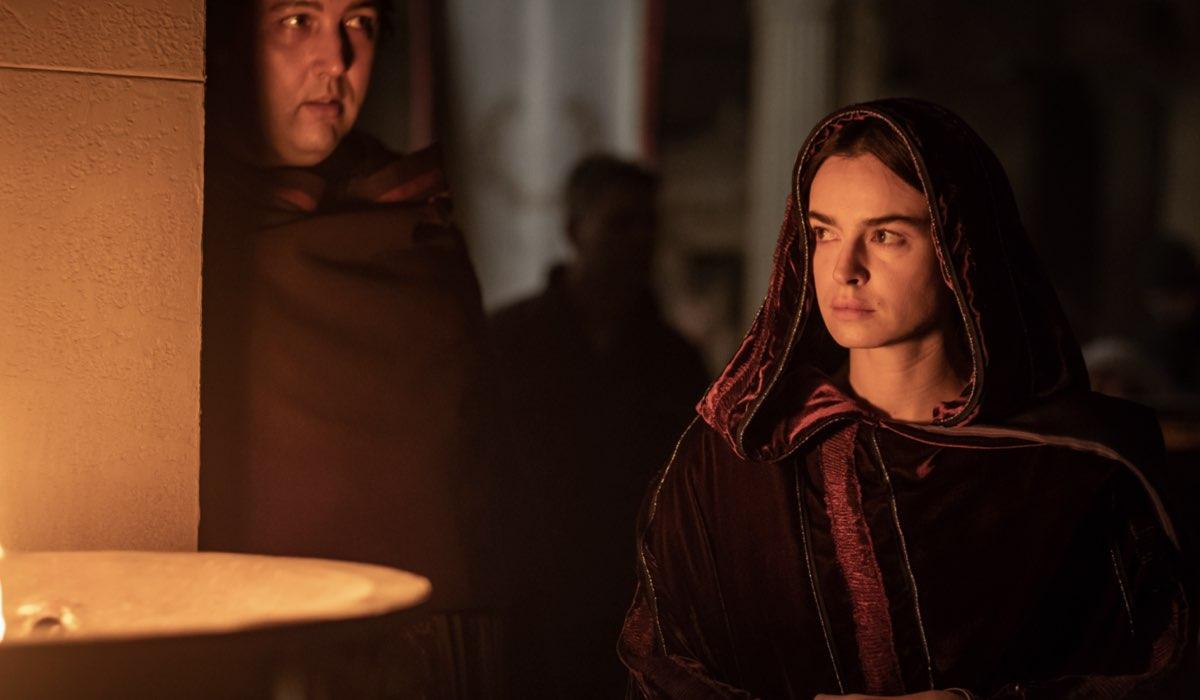 """Livia Drusilla (Kasia Smutniak) in una scena del terzo episodio di """"Domina"""". Credits: Sky."""
