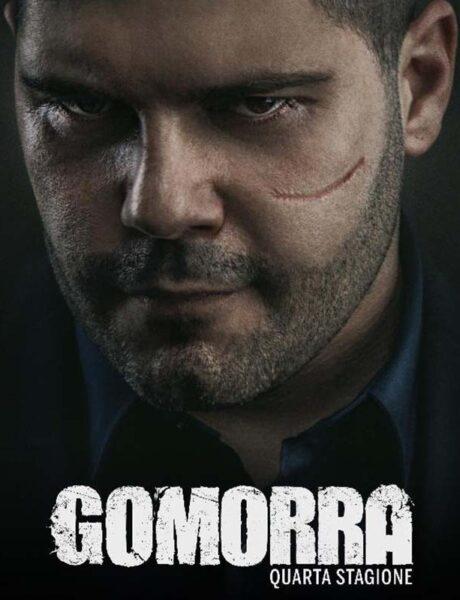 La locandina di Gomorra. Credits: Sky.