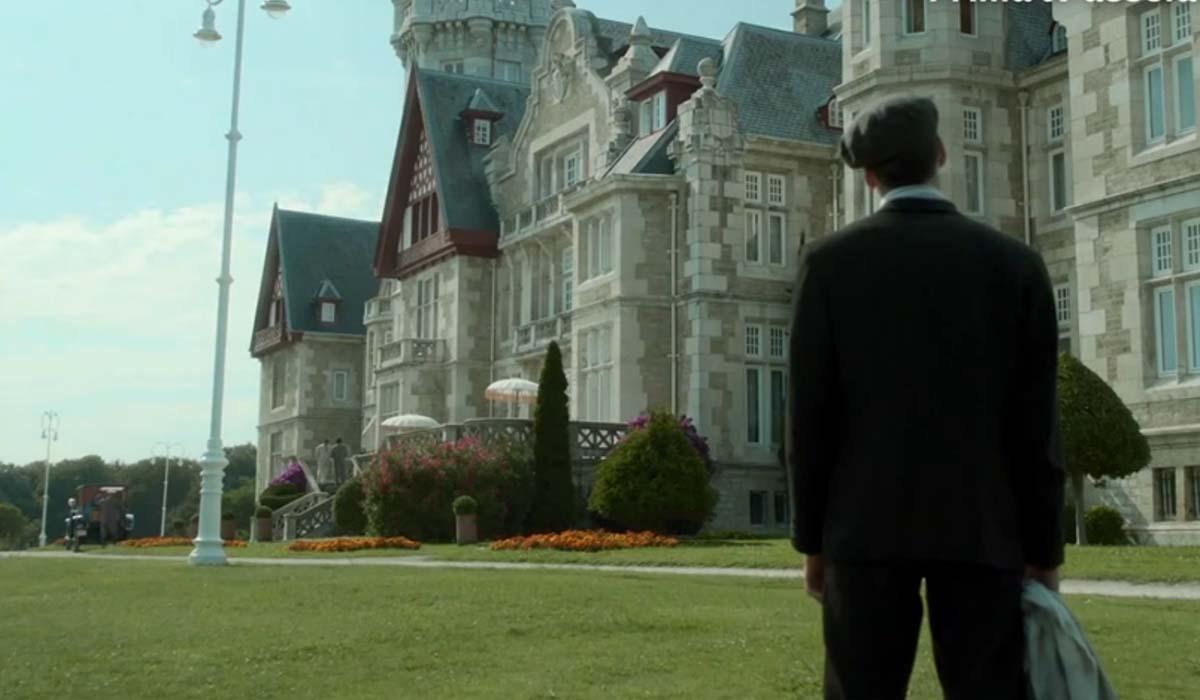 La location di Grand Hotel - Intrighi e passioni. Credits: Mediaset.