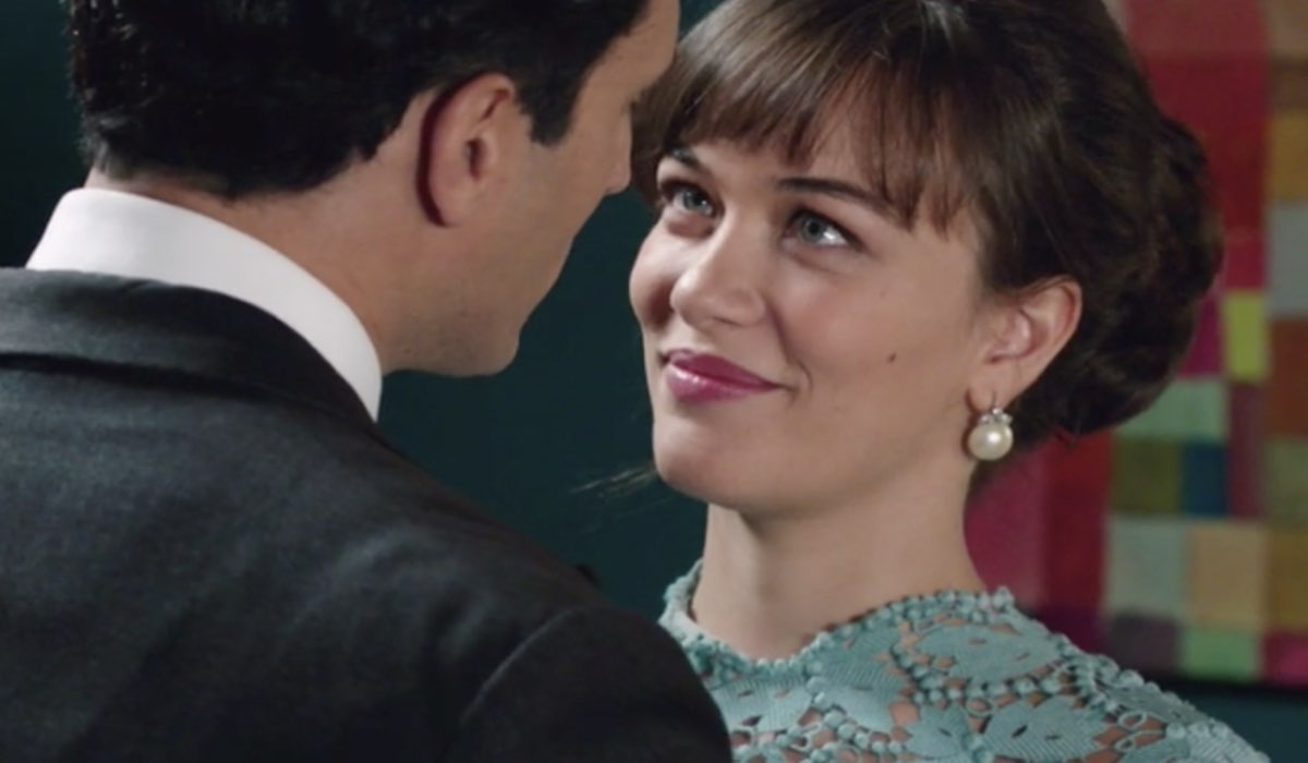 Il Paradiso Delle Signore 4, puntata 159: Vittorio Conti interpretato da Alessandro Tersigni e Marta Guarnieri interpretata da Gloria Radulescu. Credits: Rai