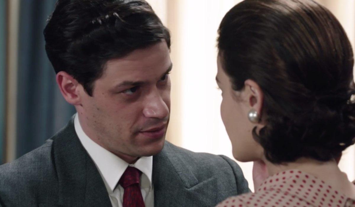 Il Paradiso Delle Signore 5 - Daily 3, puntata 149: Cosimo Bergamini e Gabriella Rossi interpretati da Alessandro Cosentini e Ilaria Rossi. Credits: Rai