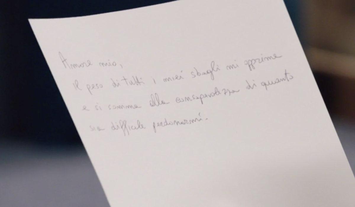 Il Paradiso Delle Signore 5, puntata 146: la lettera di scuse di Cosimo per Gabriella. Credits: Rai