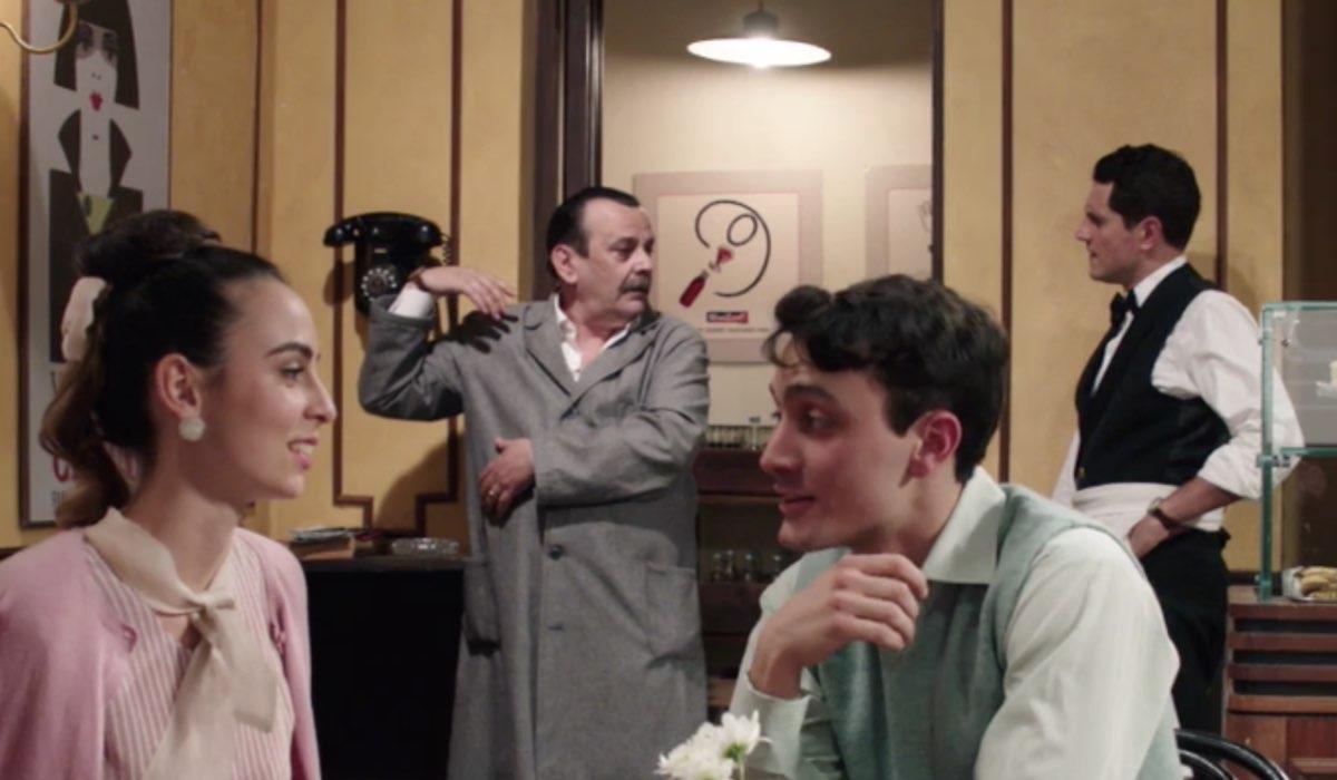 Il Paradiso Delle Signore 5, puntata 148: Giuseppe e Salvatore in Caffetteria Credits Rai