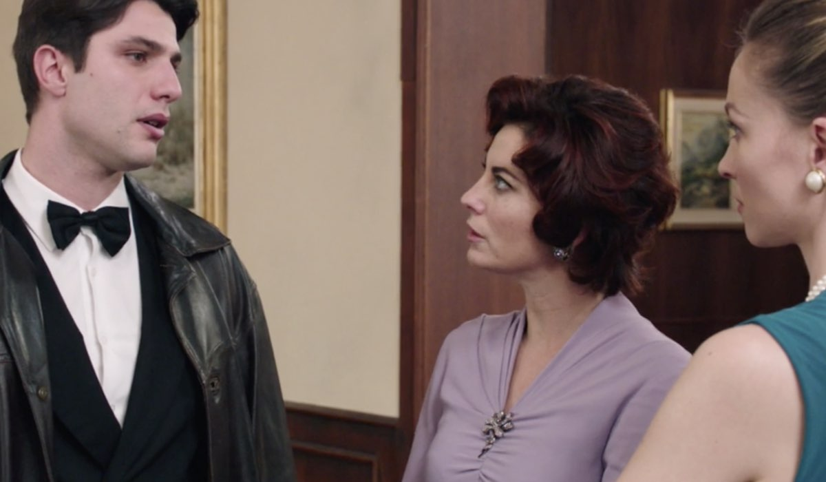 Il Paradiso Delle Signore 5, puntata 160: Marcello, Adelaide e Fiorenza al Circolo. Credits: Rai