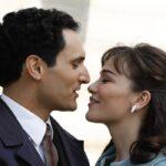 Il Paradiso Delle Signore Vittorio e Marta, qui insieme, interpretati da Alessandro Tersigni e Gloria Radulescu. Credits: Rai