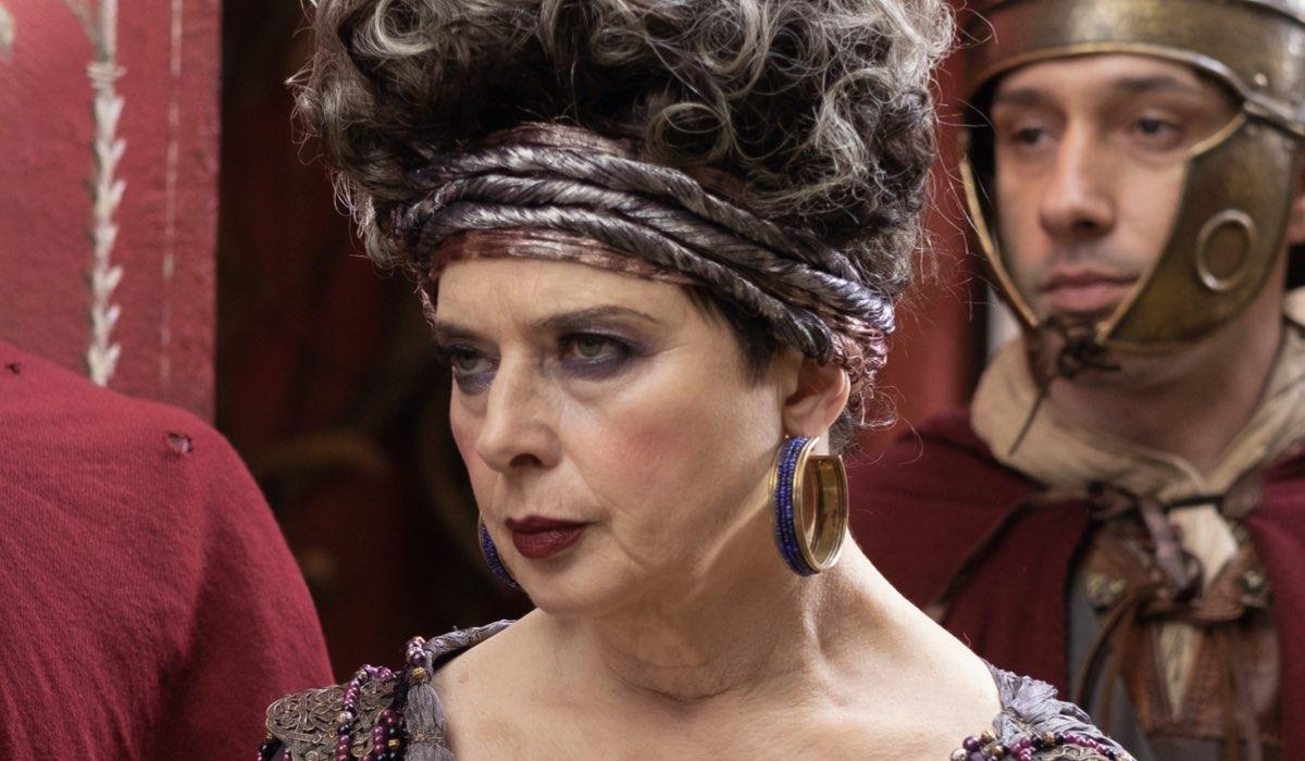 Isabella Rossellini Interpreta Balbina In Domina Credits: Sky