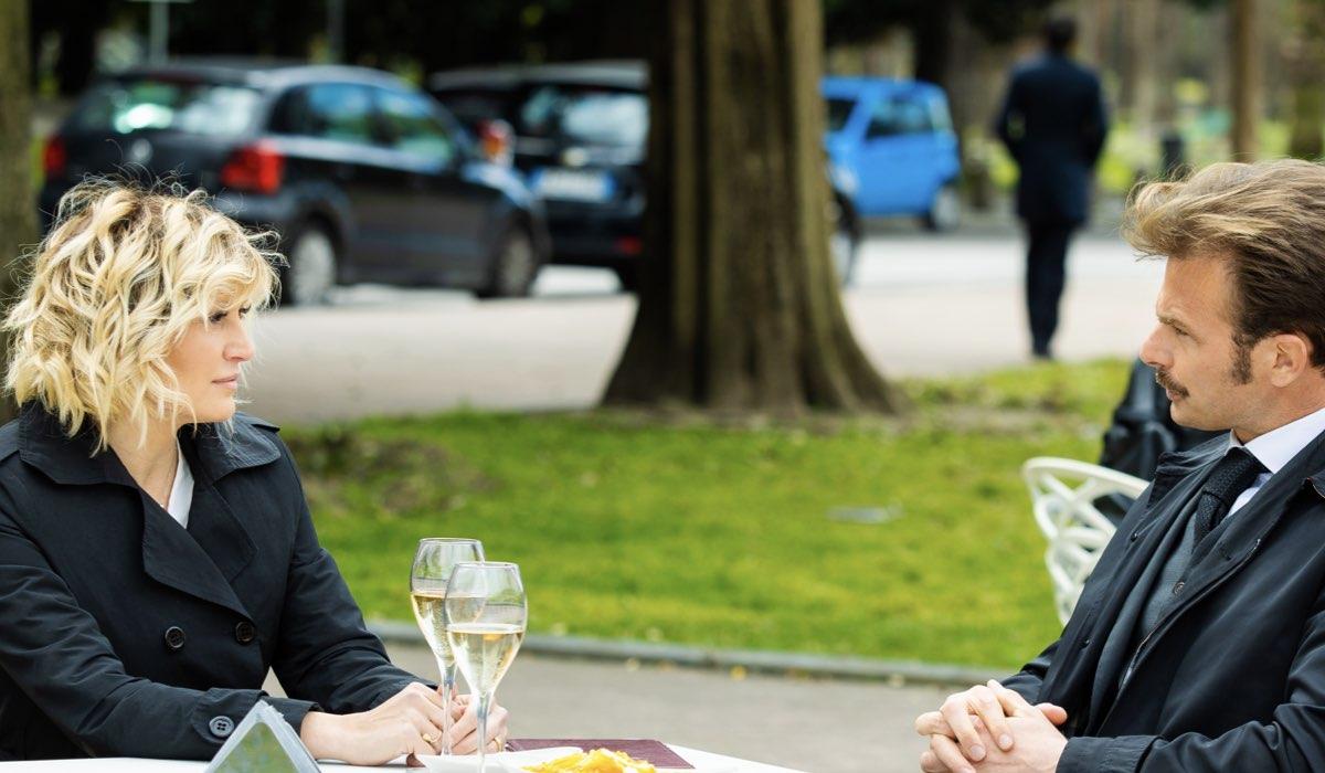 Lara (Chiara Conti) e Pietro (Simon Grechi) In Un Posto Al Sole Credits: Rai