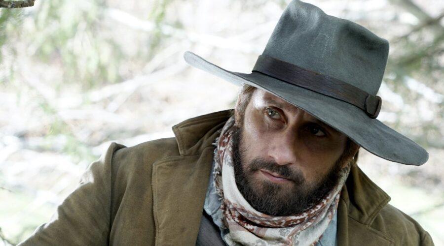 Matthias Schoenaerts (Django) In Una Scena Di Django serie tv. Credits: Sky