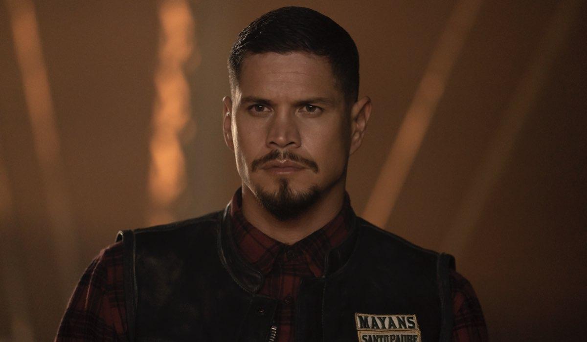 """J.D. Pardo in una scena della terza stagione di """"Mayans MC"""". Credits: Fox."""