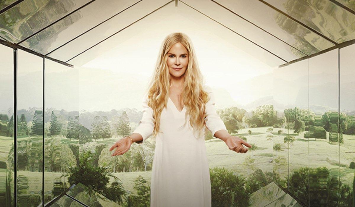 "Nicole Kidman nel poster di ""Nine Perfect Strangers"". Credits: Amazon Prime Video."