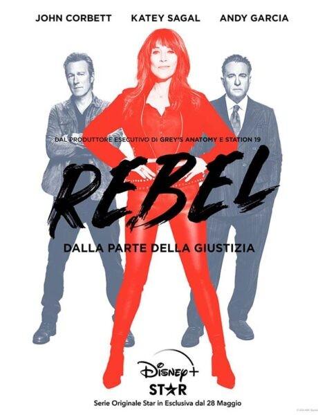La locandina della serie televisiva Rebel. Credits: The Walt Disney Company.