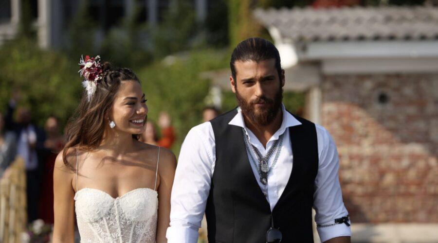 Sanem e Can si sposano In Daydreamer Credits: Global Telif Haklari Yapimcilik Tic. A.s.