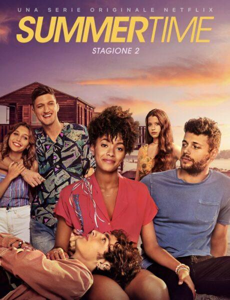 Summertime 2, il poster della serie. Credits: Netflix.