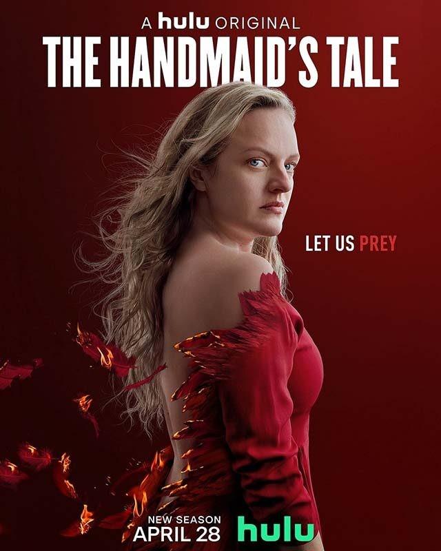 La locandina di The Handmaid's Tale. Credits: MGM/Hulu/Timvision.