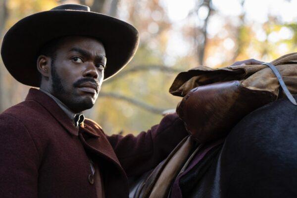 """William Jackson Harper in una scena di """"The Underground Railroad"""". Credits: Prime Video."""
