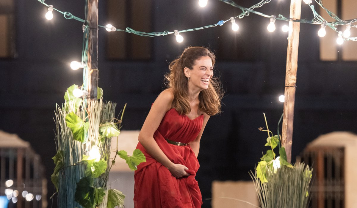 Serena Iansiti interpreta Carolina, qui in una scena di Un Passo Dal Cielo 6. Credits: Rai